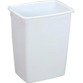 FG2806TPWHT Rubbermaid; Wastebasket 2806 36 Quart, White