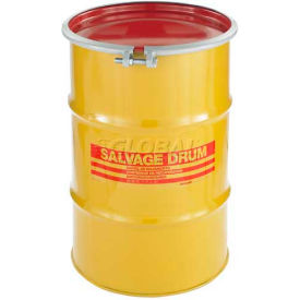 HM3001 Skolnik HM3001 30 Gallon Open Head Carbon Steel Salvage Transport Overpack Drum