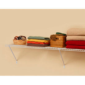 "closetmaid shelf kit, 4 pack superslide shelf (48"" x 12"") Closetmaid Shelf Kit, 4 pack Superslide Shelf (48"" x 12"")"