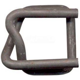 "phosphate coated strapping buckles for 3/4"" woven cord strapping, 1000 pack Phosphate Coated Strapping Buckles for 3/4"" Woven Cord Strapping, 1000 Pack"