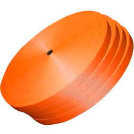 "woven polyester strapping 1-1/2"" x .050"" x 600 orange Woven Polyester Strapping 1-1/2"" x .050"" x 600 Orange"