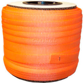 "woven polyester strapping 3/4"" x .050"" x 250 orange Woven Polyester Strapping 3/4"" x .050"" x 250 Orange"