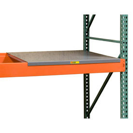 "pallet rack - solid steel deck 58"" w x 24"" d Pallet Rack - Solid Steel Deck 58"" W x 24"" D"