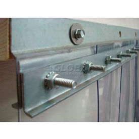 "60"" 12 ga. steel strip door mounting hardware e5ghw2829c60 60"" 12 ga. Steel Strip Door Mounting Hardware E5GHW2829C60"