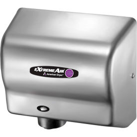 american dryer extremeair high speed hand dryer w/ germ killing technology - stainless steel cpc9-ss American Dryer ExtremeAir High Speed Hand Dryer W/ Germ Killing Technology - Stainless Steel CPC9-SS