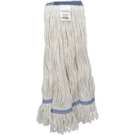 00378 Global Industrial; Medium Blend Looped Mop Head, Narrow Band