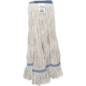 00379 Global Industrial; Large Blend Looped Mop Head, Narrow Band