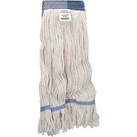 01379 Global Industrial; Large Blend Looped Mop Head, Wide Band