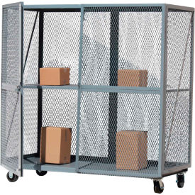 optional middle shelf for global approved open mesh steel security truck 72x30 gray Optional Middle Shelf for Global Approved Open Mesh Steel Security Truck 72x30 Gray