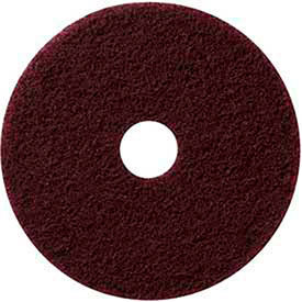 "420713 13"" Maroon EcoPrep ""EPP"" Chemical Free Stripping Pad - 10 Per Case"