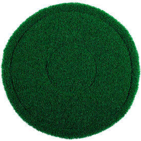 "402917 17"" Green Scrub Brush Alternative Scrubbing Pad - 4 Per Case"