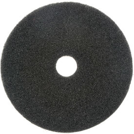 "400118 18"" Black Stripping Pad - 5 Per Case"