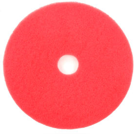 "404418 18"" Red Buffing Pad - 5 Per Case"