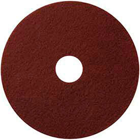 "420718 18"" Maroon EcoPrep ""EPP"" Chemical Free Stripping Pad - 10 Per Case"