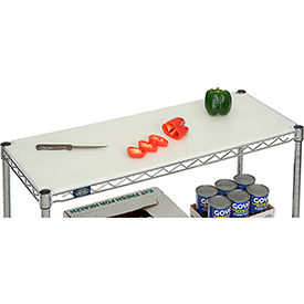 "90450 Poly Cutting Board for Wire Shelf 36""W x 14""D x 1/2"" Thick - NSF approved"
