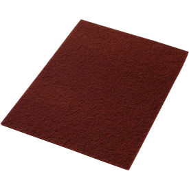 "42071420 14"" x 20"" Maroon EcoPrep ""EPP"" Chemical Free Stripping Pad - 10 Per Case"