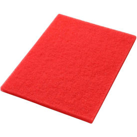 "40441420 14"" x 20"" Red Buffing Pad - 5 Per Case"