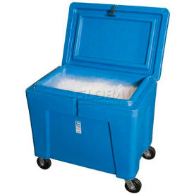 "polar chest dry ice storage container with lid and casters pb11hlc - 42""l x 29""w x 39""h Polar Chest Dry Ice Storage Container with Lid and Casters PB11HLC - 42""L x 29""W x 39""H"
