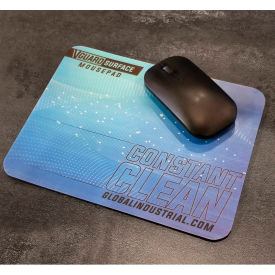 "global industrial™ v-guard constant clean antimicrobial mousepad, 9"" x 7"", 5/pack"