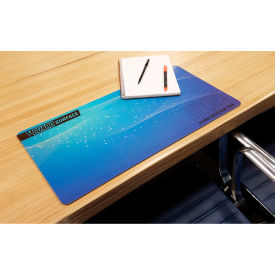 "global industrial™ v-guard constant clean antimicrobial desk mat, 32"" x 12"", 3/pack"