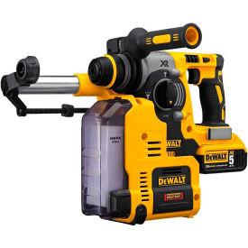 "dewalt dch273p2dh 20v max 1"" cordless sds-plus brushless l-shape rotary hammer kit & dust extractor DeWALT DCH273P2DH 20V MAX 1"" Cordless SDS-plus Brushless L-Shape Rotary Hammer Kit & Dust Extractor"