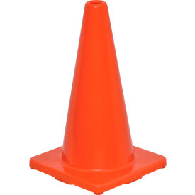 "global industrial™ 18"" traffic cone, non-reflective, solid orange base, 2-1/2 lbs Global Industrial™ 18"" Traffic Cone, Non-Reflective, Solid Orange Base, 2-1/2 lbs"