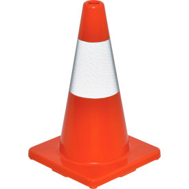"global industrial™ 18"" traffic cone, reflective, solid orange base, 2-1/2 lbs Global Industrial™ 18"" Traffic Cone, Reflective, Solid Orange Base, 2-1/2 lbs"