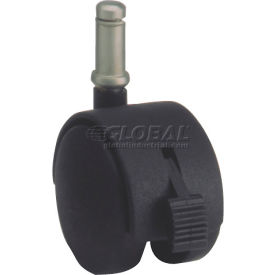 algood dual disc series chair caster with nylon locking wheel 03t4-050-437sx7/8-b - stem type e Algood Dual Disc Series Chair Caster with Nylon Locking Wheel 03T4-050-437SX7/8-B - Stem Type E