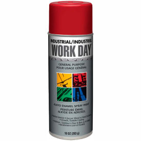 A04404007 Krylon Industrial Work Day Enamel Paint Gloss Red - A04404007