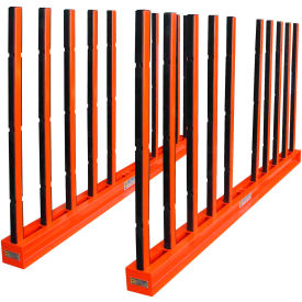 "abaco srk10r, slab rack with rubber lined poles, 118""l x 7""w x 60""h, 30,000 lbs cap Abaco SRK10R, Slab Rack with Rubber Lined Poles, 118""L x 7""W x 60""H, 30,000 lbs Cap"
