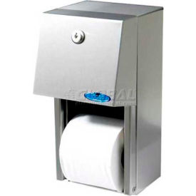 165 Frost Multi-Roll Standard Toilet Tissue Holder - Stainless Steel - 165