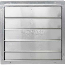 "502-STD-16 Low Velocity Exhaust Shutter 16"" - 502-STD-16"