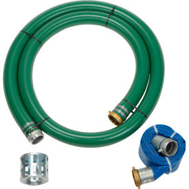 "98128662 Apache 98128662 3"" Trash Pump Hose Kits w/ Aluminum Couplings and Fittings"