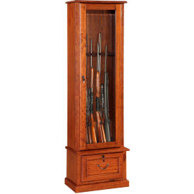 american furniture classics 600 wood gun storage cabinet  - 8 guns American Furniture Classics 600 Wood Gun Storage Cabinet  - 8 Guns