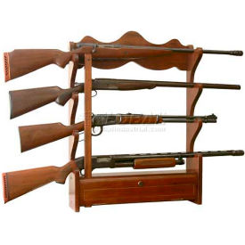 american furniture classics 840 wood gun wall rack, 4 long guns American Furniture Classics 840 Wood Gun Wall Rack, 4 Long Guns