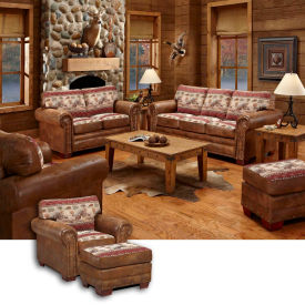 american furniture classics sierra lodge set, includes sofa, loveseat, chair & ottoman American Furniture Classics Sierra Lodge Set, Includes Sofa, Loveseat, Chair & Ottoman