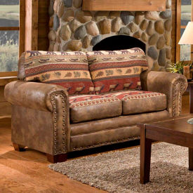 american furniture classics sierra lodge loveseat, 100% cotton tapestry American Furniture Classics Sierra Lodge Loveseat, 100% Cotton Tapestry