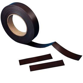 "MP100 Plain Magnetic Roll Stock, 1"" x 50 ft"