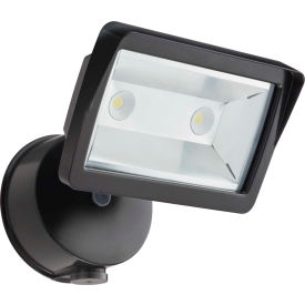 OLFL 14 PE BZ M4 Lithonia OLFL 14 PE BZ M4  LED Security Flood Light, 25W, 120V, 1900 Lumens
