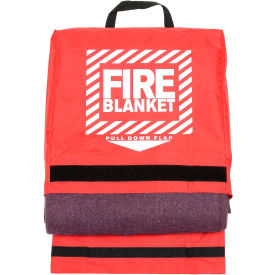 21-650 Pac-Kit Woolen Fire Blanket in Nylon Pouch, 21-650