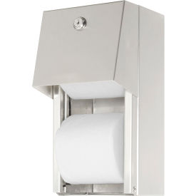 0030 ASI; Surface Mounted Dual Roll Toilet Tissue Dispenser - 0030