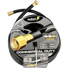 "4008300A Jackson; 4008300A Professional Tools 5/8"" X 50 Rubber Commercial Duty Garden Hose"