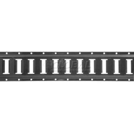 ancra® series e horizontal track 10 gray 48117-25-120.00 Ancra® Series E Horizontal Track 10 Gray 48117-25-120.00