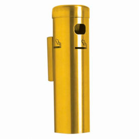wall mounted cigarette receptacle gold Wall Mounted Cigarette Receptacle Gold