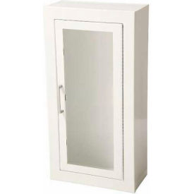 1013F10 Fire Extinguisher Cabinet, Full Acrylic Window, Steel