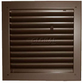 "fire-rated door louver 1900a2424b, adjustable z-blade, self-attach, 24"" x 24"", bronze Fire-Rated Door Louver 1900A2424B, Adjustable Z-Blade, Self-Attach, 24"" X 24"", Bronze"