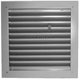 "fire-rated door louver 1900a2424g, adjustable z-blade, self-attach, 24"" x 24"", gray primer Fire-Rated Door Louver 1900A2424G, Adjustable Z-Blade, Self-Attach, 24"" X 24"", Gray Primer"