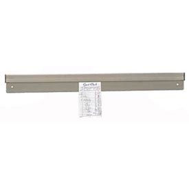 "CM-36-X Check Minder, 36"" L, Aluminum, Wall or Shelf Mount"
