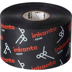 inkanto t65473io heat resistant resin ribbon, 130mm x 450m, axr 8, 12 rolls/case Inkanto T65473IO Heat Resistant Resin Ribbon, 130mm x 450m, AXR 8, 12 Rolls/Case