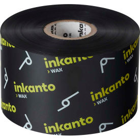 inkanto t66404io resin-enhanced wax ribbon, 165mm x 360m, awx fh, 6 rolls/case Inkanto T66404IO Resin-Enhanced Wax Ribbon, 165mm x 360m, AWX FH, 6 Rolls/Case